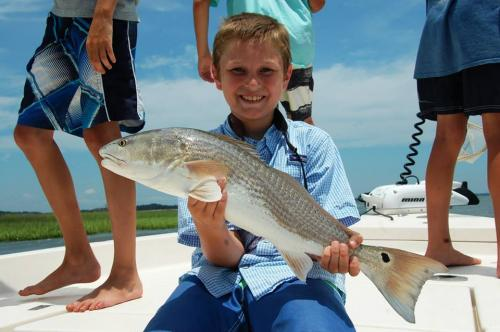 redfish charter fishing
