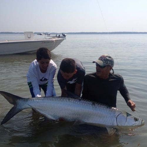 broad river fishing charter