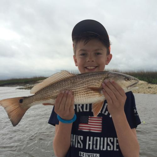redfish charters beaufort